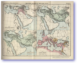 Babylonian, Grecian, Persian and Roman Empires - Ancient Empires (Hand Book of Bible Geography - Published: 1870) 600 DPI