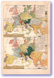 Europe - 15th Century and 16th Century (History of Europe - Published: 1918) 1200 DPI