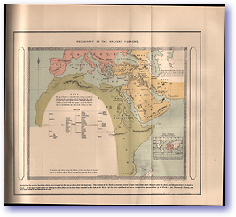 Geography of the Ancient Hebrews - 100 Years After the Flood (Land of the Bible - Published: 1900) 1200 DPI