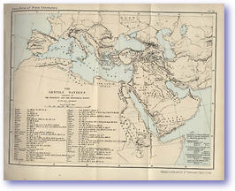 Gentile Nations - Old Testament (Hand Book of Bible Geography - Published: 1870)