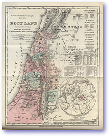 The Holyland - Old Testament (Hand Book of Bible Geography - Published: 1870)