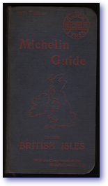 Michelin Guide to the British Isles (Cover) - Published: 1911