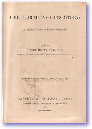 Our Earth and its Story - Vol 2 (Cover) - Published: 1888