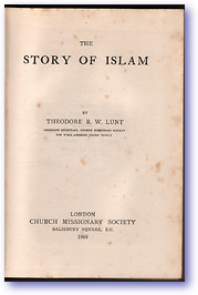 Story of Islam (Cover) - Published: 1909