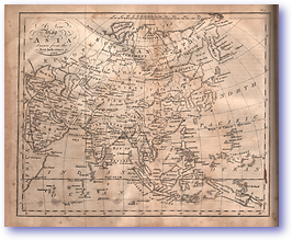 Asia - 1797 (Adam's Geography - Published: 1824) 1200 DPI