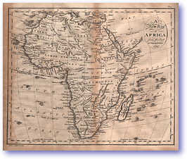 Africa - 1797 (Adam's Geography - Published: 1824) 1200 DPI