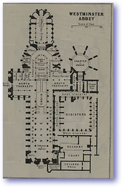 Westminster Abbey - 1922 (Pocket Atlas and Guide to London - Published: 1922) 600 DPI