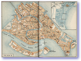 Venice Islands and Canals - 1904 (Venice - Published: 1904) 600 DPI
